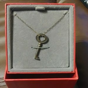 Red Envelope Key Necklace